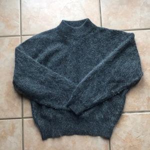 Vintage Rafaella Angora/Lambswool Sweater Medium